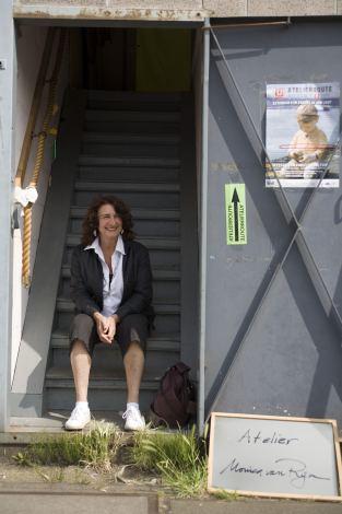 Monica in atelier